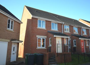 Thumbnail 3 bed end terrace house for sale in Powlesland Road, Alphington, Exeter