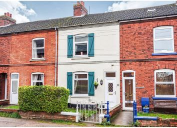 Thumbnail 2 bed terraced house for sale in St. Johns Road, Asfordby Hill, Melton Mowbray