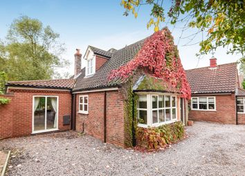 Thumbnail 4 bed detached house for sale in Green Drove, Outwell, Wisbech