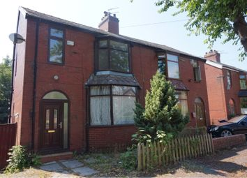 Thumbnail 3 bed semi-detached house for sale in Woodlands Avenue, Manchester