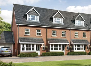 "Thumbnail 3 bed terraced house for sale in ""The Lincoln"" at Woodcroft Lane, Waterlooville"