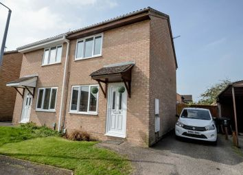 Thumbnail 2 bed semi-detached house for sale in Lineacre Close, Grange Park, Swindon