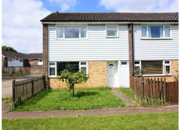 Thumbnail 3 bed end terrace house for sale in Kings Green, King's Lynn