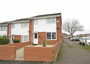 Thumbnail 3 bed end terrace house for sale in Blaydon Walk, Wellingborough
