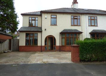 Thumbnail 4 bed semi-detached house for sale in The Crescent, Ashton-On-Ribble, Preston