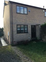 Thumbnail 2 bed semi-detached house to rent in Sycamore Close, Stretton, Alfreton