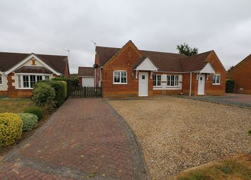 Thumbnail 2 bed semi-detached bungalow for sale in Maple Grove, Heckington, Sleaford, Lincolnshire