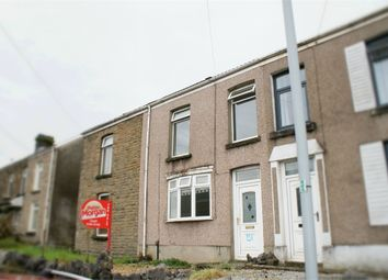 Thumbnail 3 bed terraced house for sale in Peniel Green Road, Llansamlet, Swansea, West Glamorgan