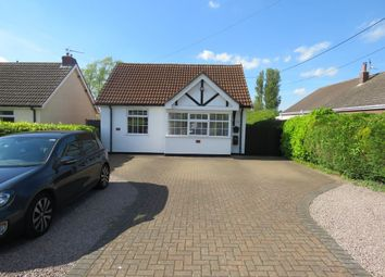 Thumbnail 3 bed detached bungalow for sale in Hawthorn Road, Cherry Willingham, Lincoln