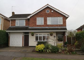 Thumbnail 4 bed detached house for sale in Salcombe Drive, Glenfield