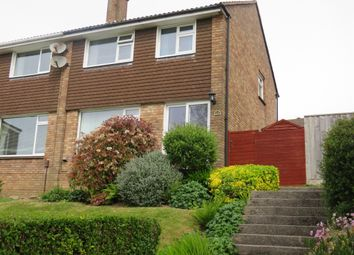 Thumbnail 3 bed semi-detached house for sale in Waddon Close, Plympton, Plymouth