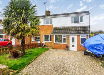 Thumbnail 3 bed semi-detached house for sale in Penymynydd Road, Penymynydd, Chester
