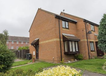 Thumbnail 2 bed end terrace house for sale in Hilldene Close, Flitwick, Bedford