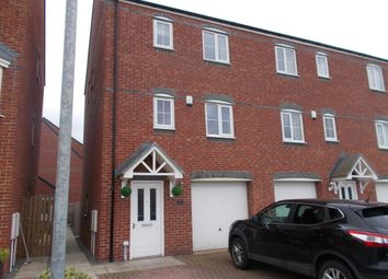 Thumbnail 3 bed town house to rent in Oval View, Scholars Rise, Middlesbrough