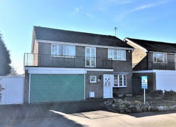 Thumbnail 4 bedroom detached house for sale in Leicester Road, Markfield