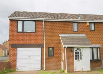 Thumbnail 3 bed semi-detached house for sale in Hensby Court, Westerhope, Newcastle Upon Tyne