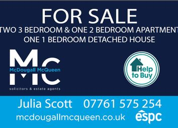 Thumbnail 1 bed flat for sale in The Loan, Loanhead