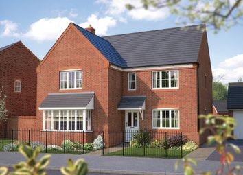 "Thumbnail 5 bed detached house for sale in ""The Arundel"" at Squinter Pip Way, Bowbrook, Shrewsbury"