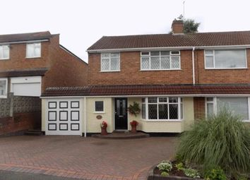 Thumbnail 3 bed semi-detached house for sale in Cherrywood Road, Sutton Coldfield, West Midlands