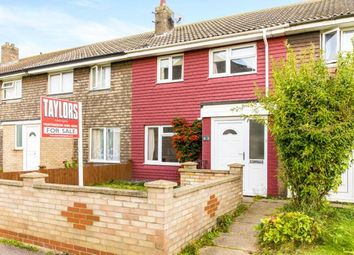 Thumbnail 3 bedroom terraced house for sale in Saunders Close, Huntingdon, Cambridgeshire