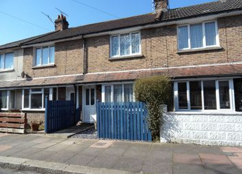 Thumbnail 2 bed terraced house for sale in St. Anselms Road, Worthing