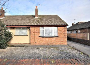 Thumbnail 2 bed semi-detached bungalow for sale in Lomond Avenue, St Anne's, Lytham St Anne's, Lancashire
