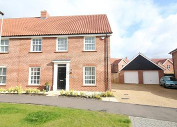 Thumbnail 4 bed semi-detached house for sale in Whiley Lane, Stalham, Norwich