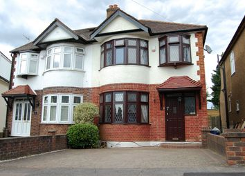Thumbnail 3 bed semi-detached house for sale in Kensington Drive, Woodford Green