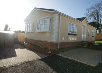 Thumbnail 2 bed detached bungalow for sale in Wessex Park, Winchester