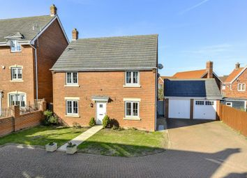 Thumbnail 4 bed detached house for sale in Thistle Drive, Desborough, Kettering