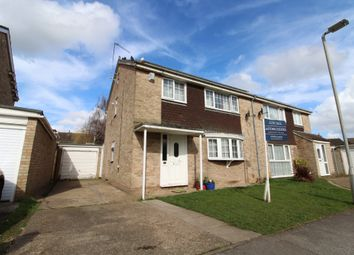 Thumbnail 4 bed semi-detached house for sale in Stour Close, Newport Pagnell, Buckinghamshire