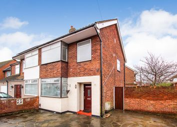 Thumbnail 3 bed semi-detached house to rent in Fullers Lane, Collier Row, Romford, Essex