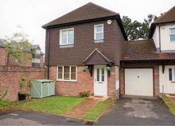 3 bed link-detached house for sale in Holly Close, West Moors, Ferndown BH22