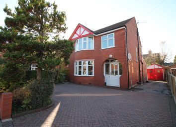 Thumbnail 3 bed detached house for sale in Carrsvale Avenue, Urmston, Manchester