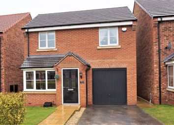 Thumbnail 3 bed detached house for sale in St. Giles Close, Retford