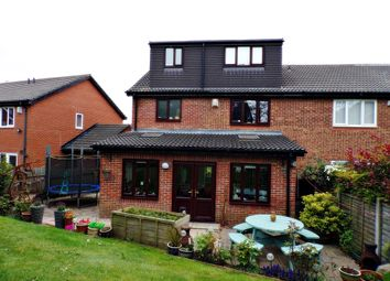 Thumbnail 4 bed semi-detached house for sale in Alcester Close, Stakeford, Choppington