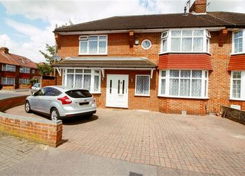Thumbnail 4 bed semi-detached house for sale in Oakleigh Avenue, Edgware