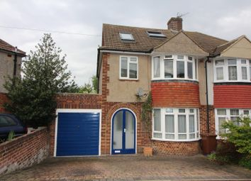 Thumbnail 4 bed semi-detached house for sale in Allington Drive, Rochester