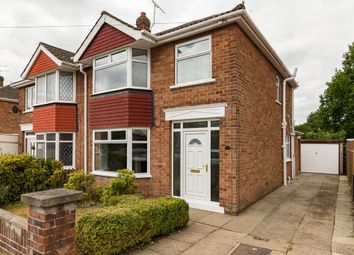 Thumbnail 3 bed semi-detached house to rent in Marsden Drive, Scunthorpe