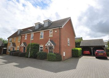 Thumbnail 3 bed town house for sale in Whitney Close, Hartford, Huntingdon, Cambridgeshire