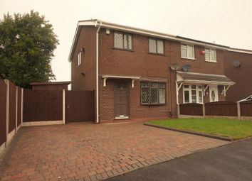 Thumbnail 3 bed semi-detached house for sale in Worth Close, Stoke-On-Trent