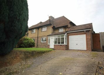 Thumbnail 3 bed semi-detached house for sale in Tilburstow Hill Road, Godstone