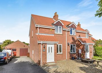 Thumbnail 2 bedroom semi-detached house to rent in Sycamore Close, Slingsby, York