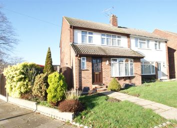 Thumbnail 3 bed property for sale in Dering Crescent, Eastwood, Leigh-On-Sea
