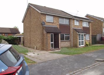 Thumbnail 3 bedroom semi-detached house to rent in Hollydale Close, Reading