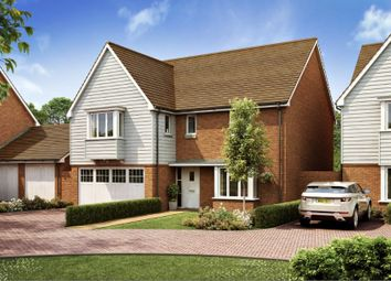Thumbnail 4 bedroom detached house for sale in Heathwood Park, Langmore Lane, Lindfield