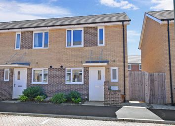Thumbnail 2 bed end terrace house for sale in Solebay Way, Gosport, Hampshire
