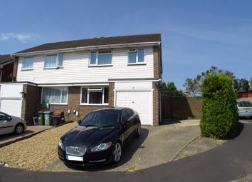Thumbnail 4 bed semi-detached house to rent in Frogmore, Fareham