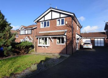 Thumbnail 3 bed detached house for sale in Tyersall Close, Eccles, Manchester