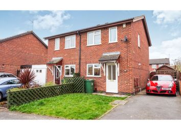 Thumbnail 2 bed semi-detached house for sale in Sedgefield Drive, Syston